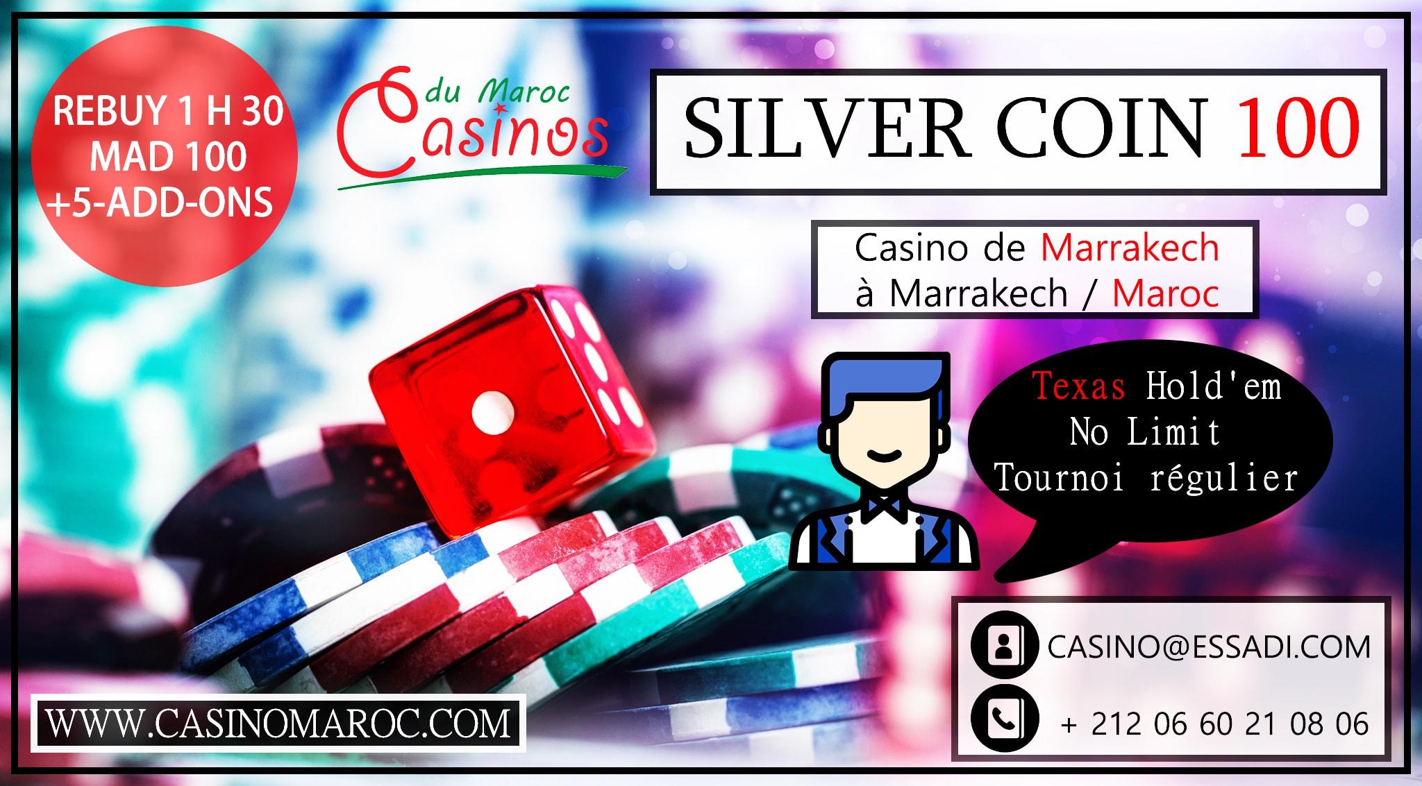 silver-coin-100-rebuy-essadi-casino-tournoi-maroc